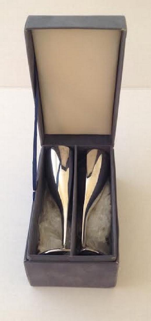 Lenox Silver Plate Kirk Stieff Wedding Goblets