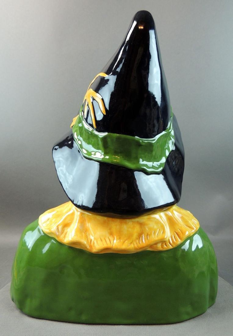 "Treasure Craft Wizard Of Oz ""Scarecrow"" Cookie Jar - 4"
