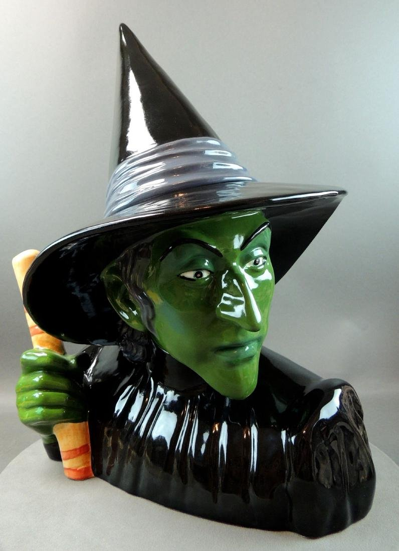 "Treasure Craft Wizard Of Oz ""Wicked Witch"" Cookie Jar"