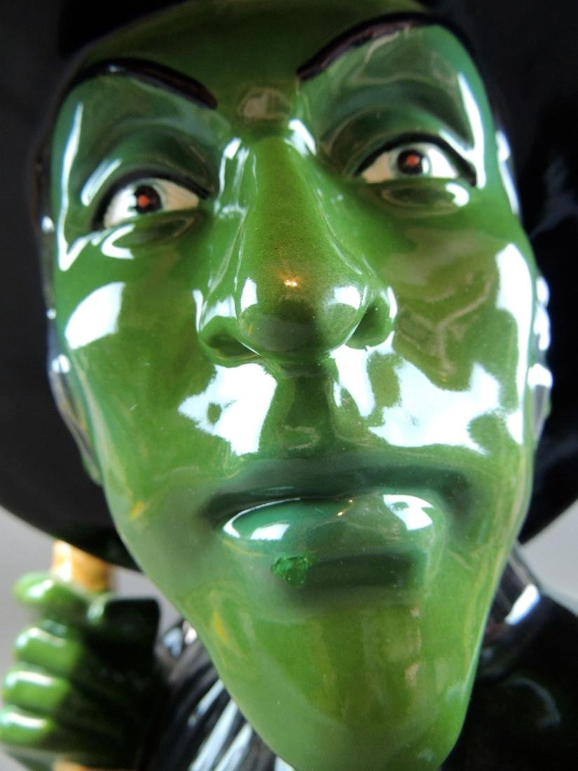 "Treasure Craft Wizard Of Oz ""Wicked Witch"" Cookie Jar - 9"