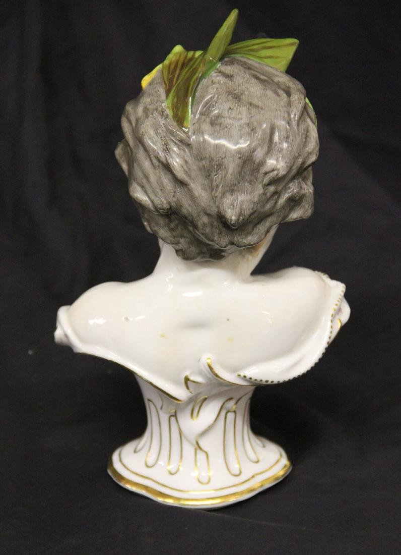 German Porcelain Bust of a Child - 2