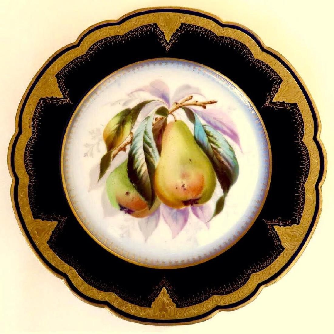 19th Century Hand Painted Varitas Vincit Plates - 3