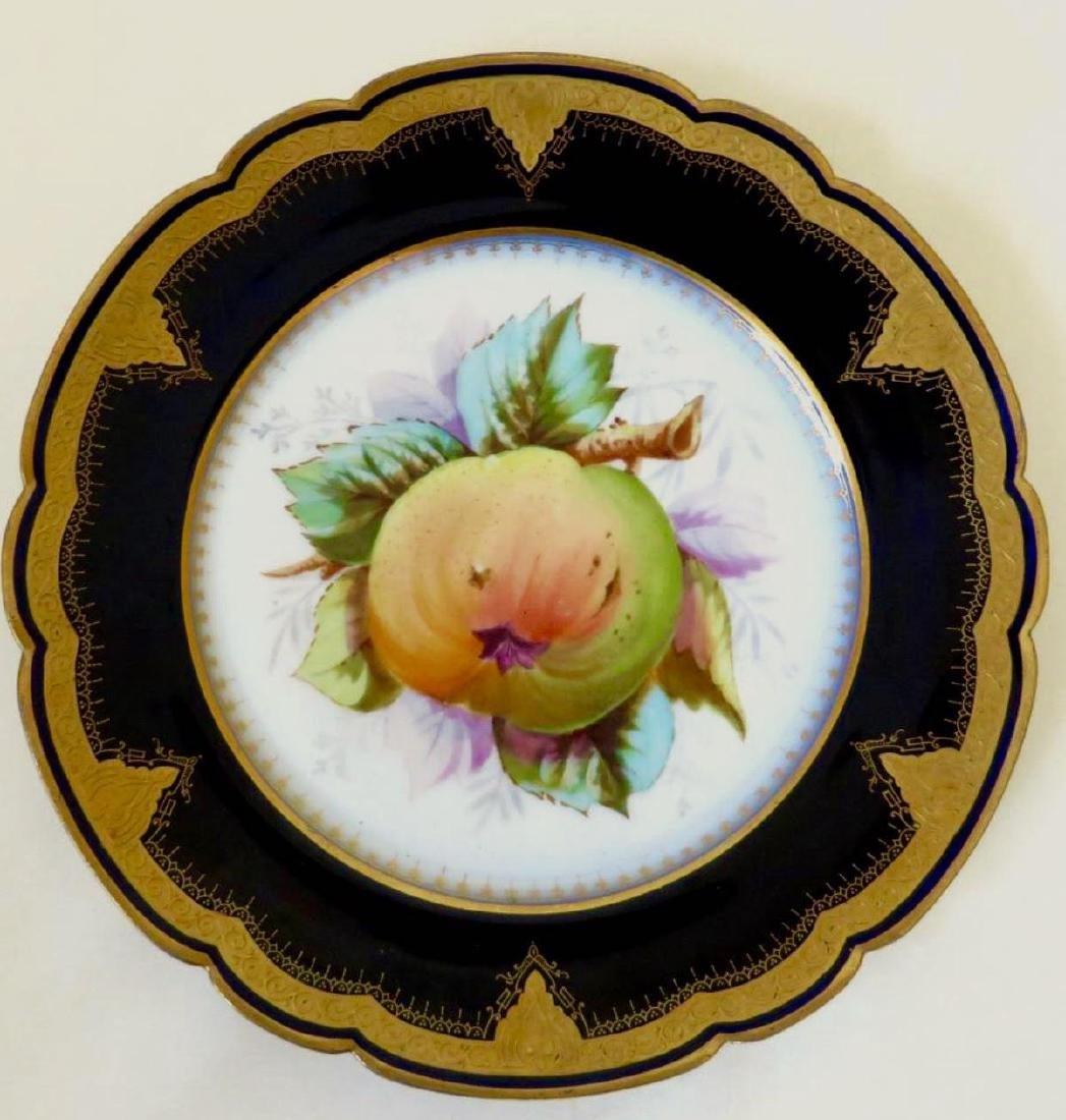 19th Century Hand Painted Varitas Vincit Plates - 4
