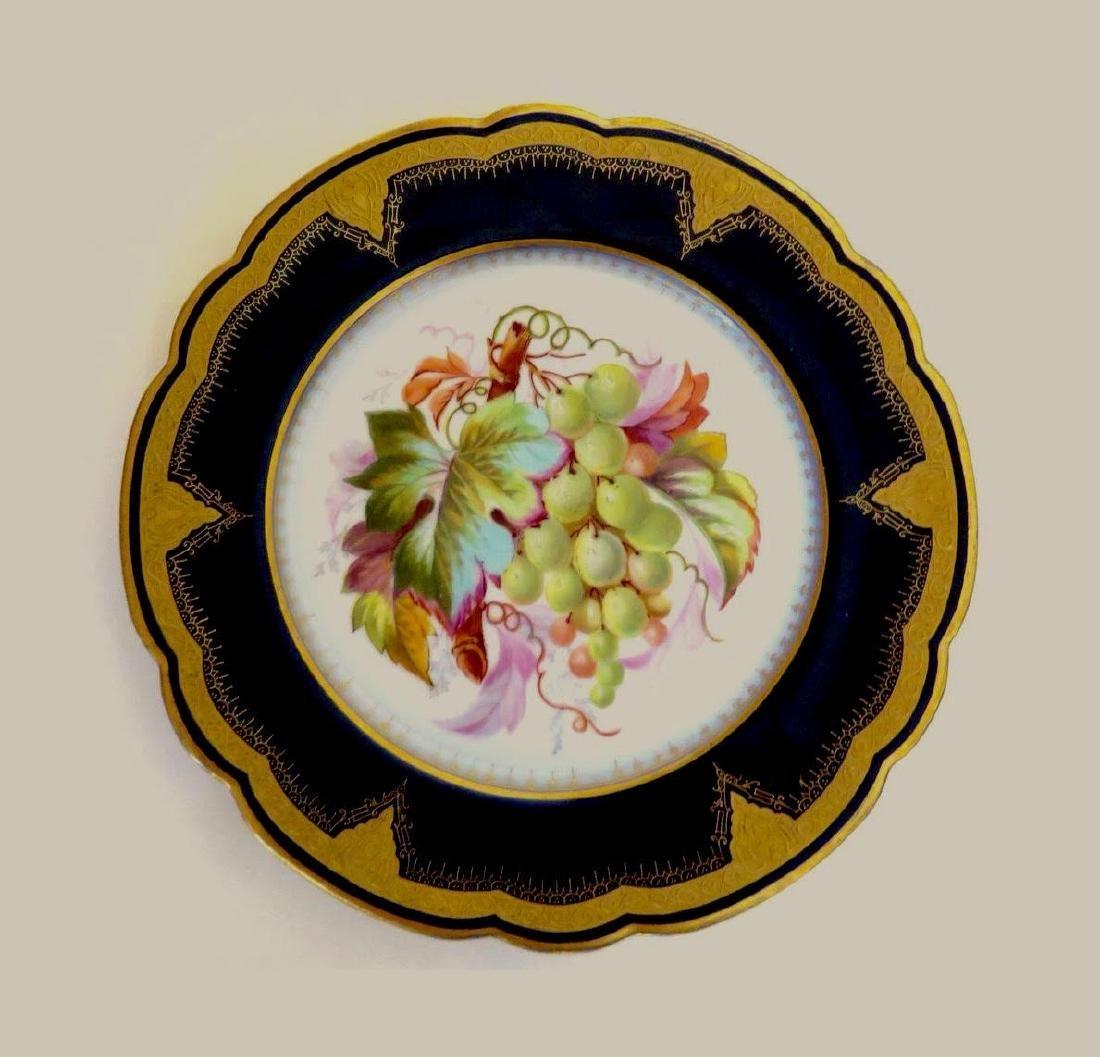 19th Century Hand Painted Varitas Vincit Plates - 5