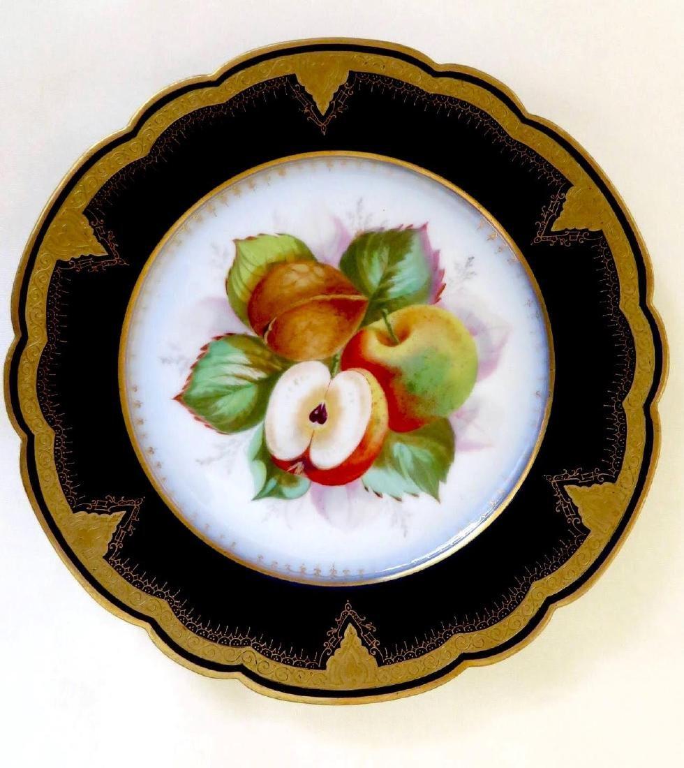 19th Century Hand Painted Varitas Vincit Plates - 6