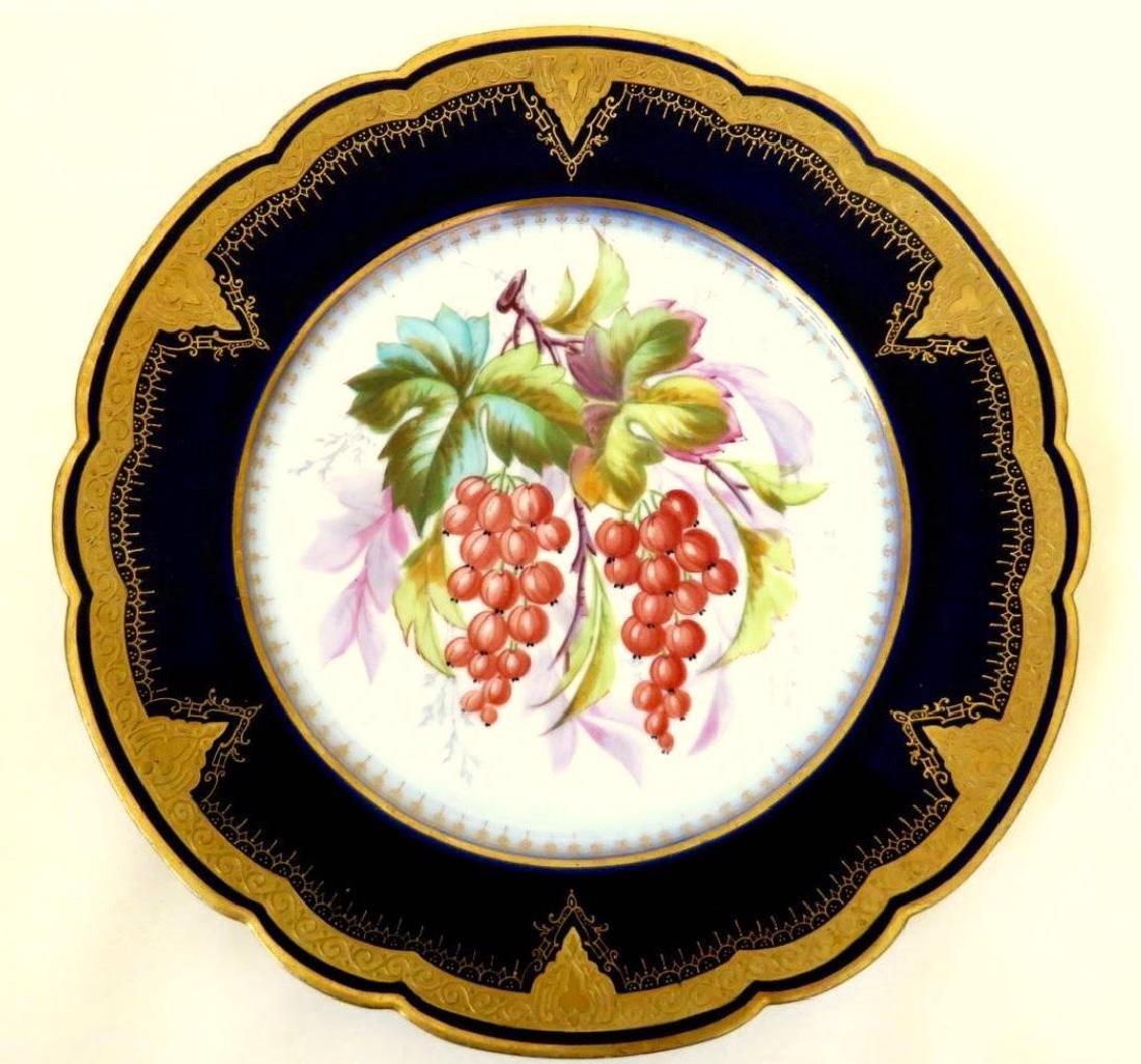 19th Century Hand Painted Varitas Vincit Plates - 7
