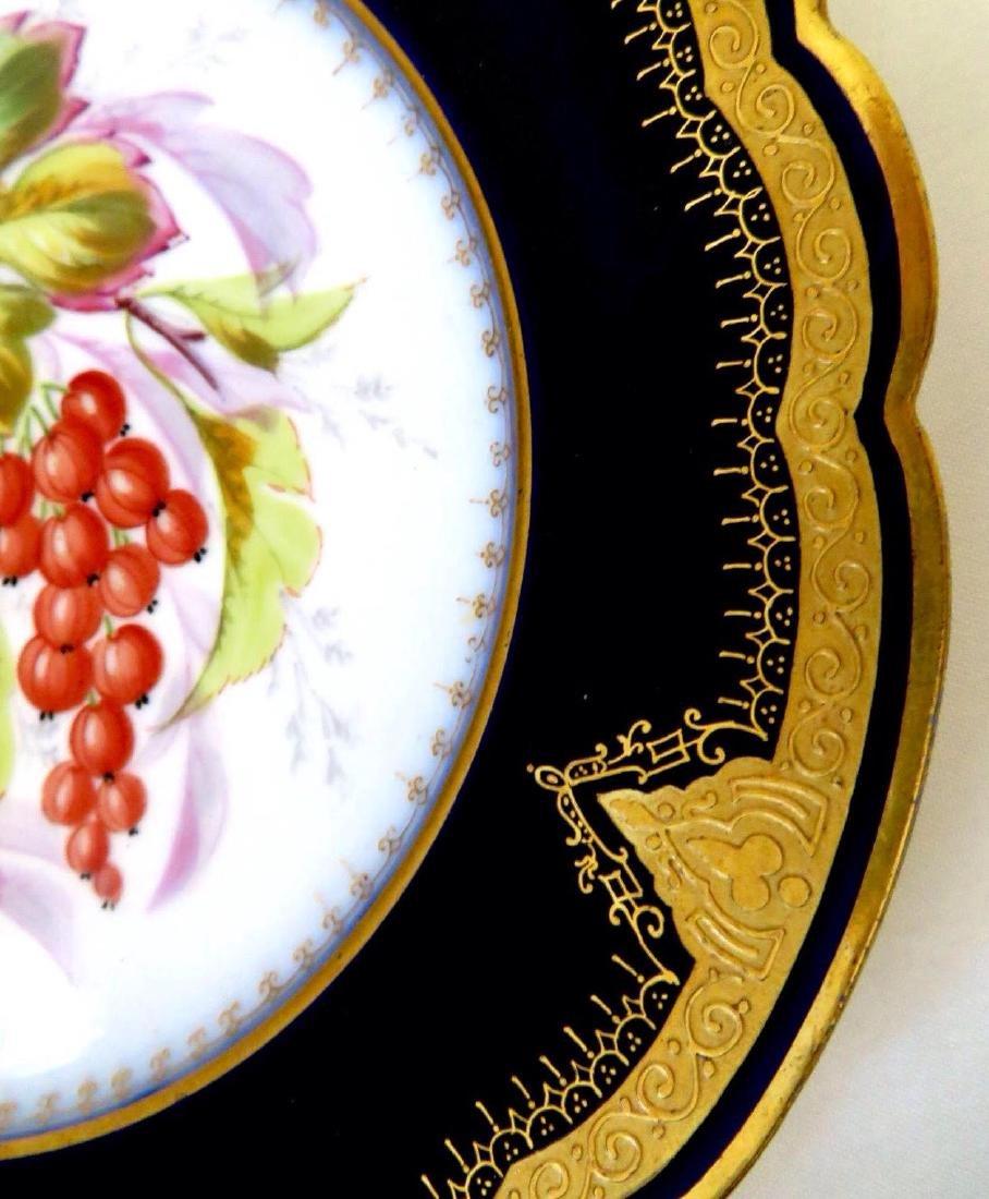 19th Century Hand Painted Varitas Vincit Plates - 8