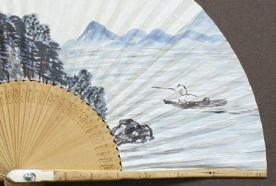 Mun Jang Ho : Korean Fan Painting, Returning Home - 6