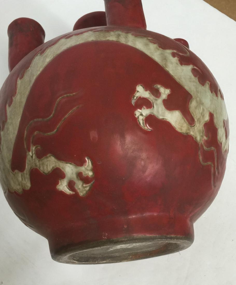 Chinese Rare Unglazed Vase - 10