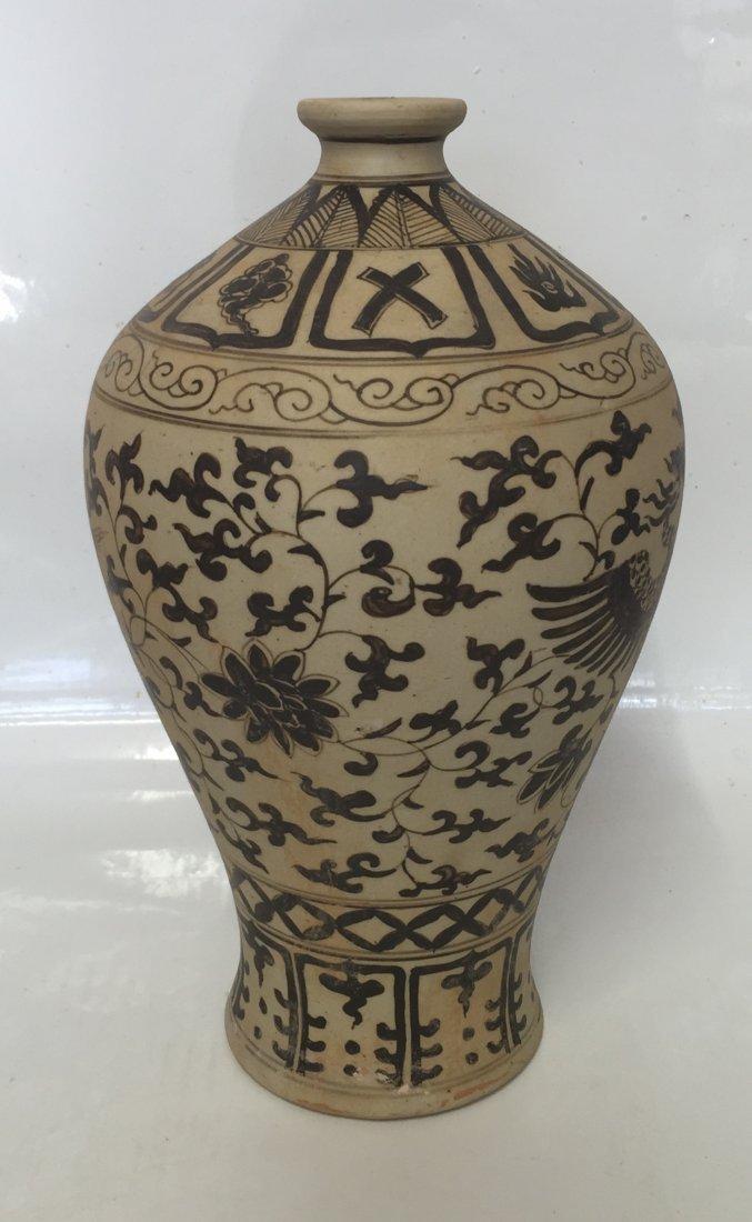 Chinese Rare Unglazed Vase - 4