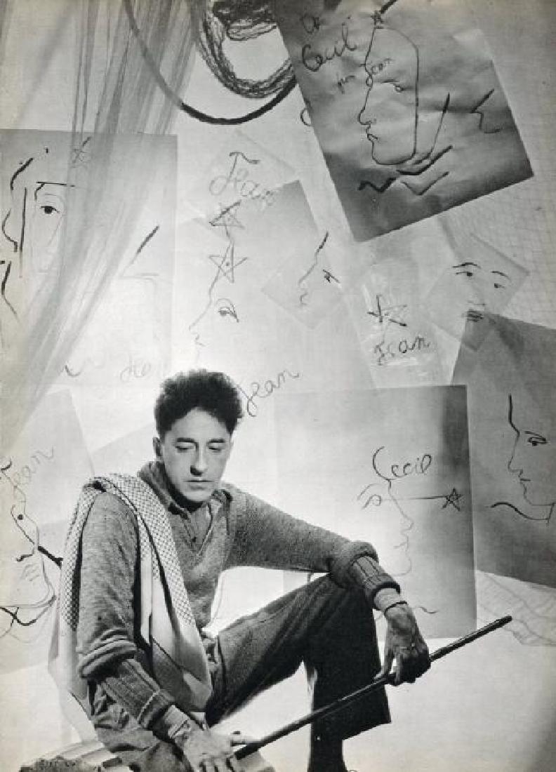 CECIL BEATON - Jean Cocteau