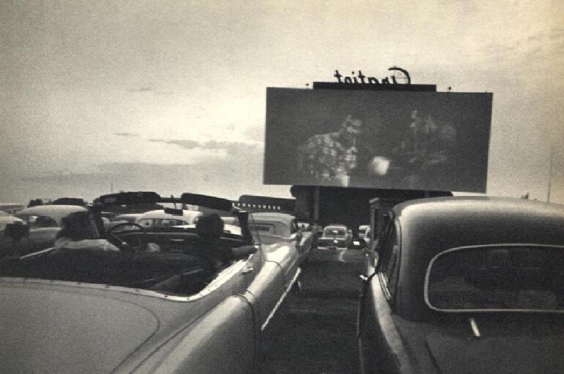 ROBERT FRANK - Drive in Movie, Detroit