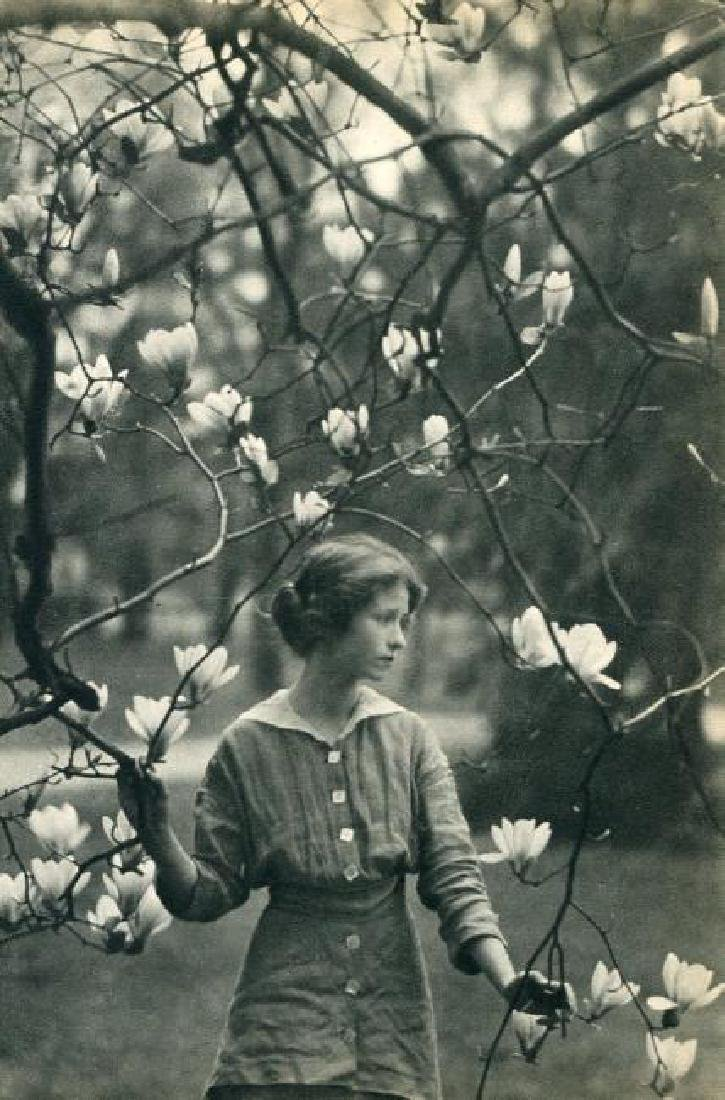 ARNOLD GENTHE - Edna St. Vincent Millay