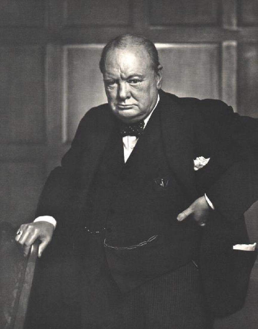 YOUSUF KARSH - Winston Churchill