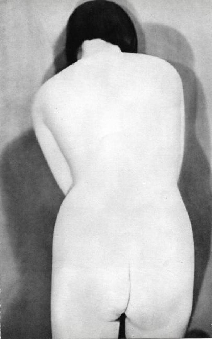 MAN RAY - Female Nude