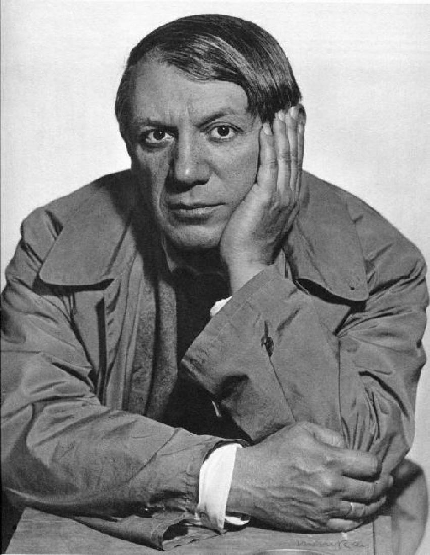 MAN RAY - Pablo Picasso