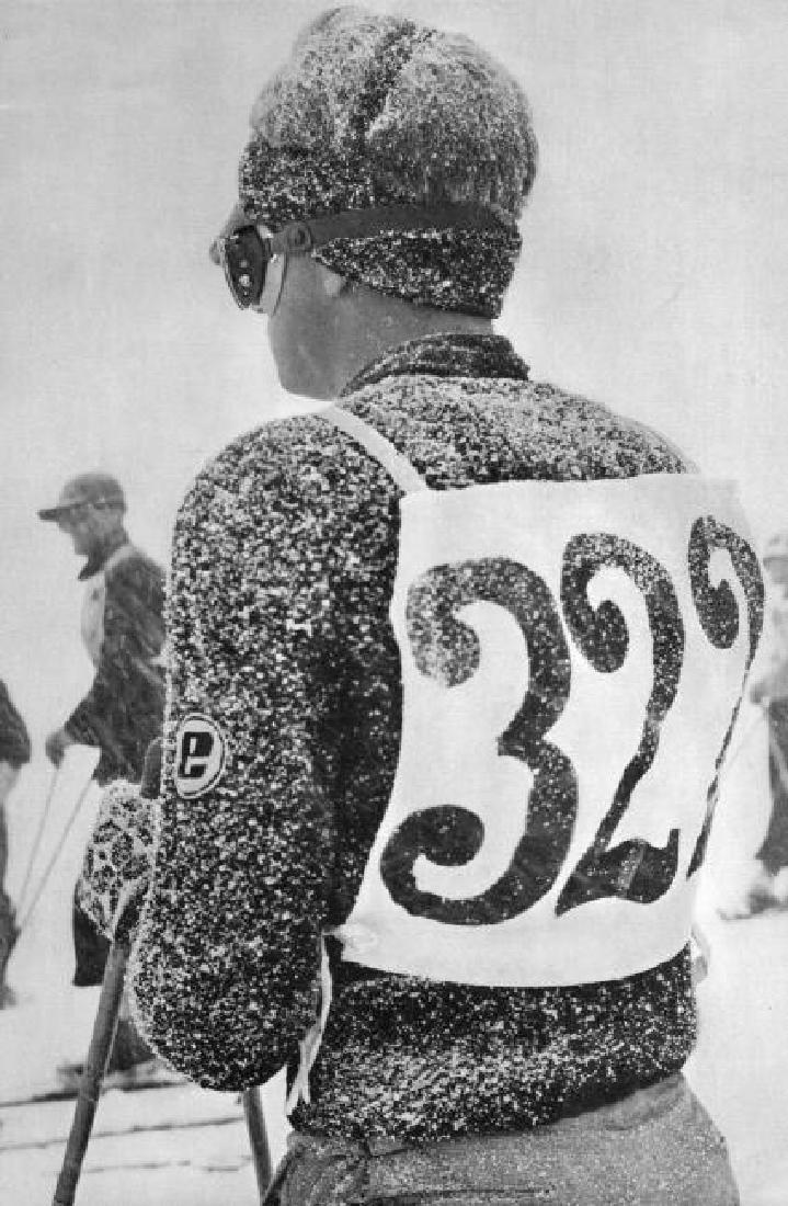 HERBERT MATTER - Skier