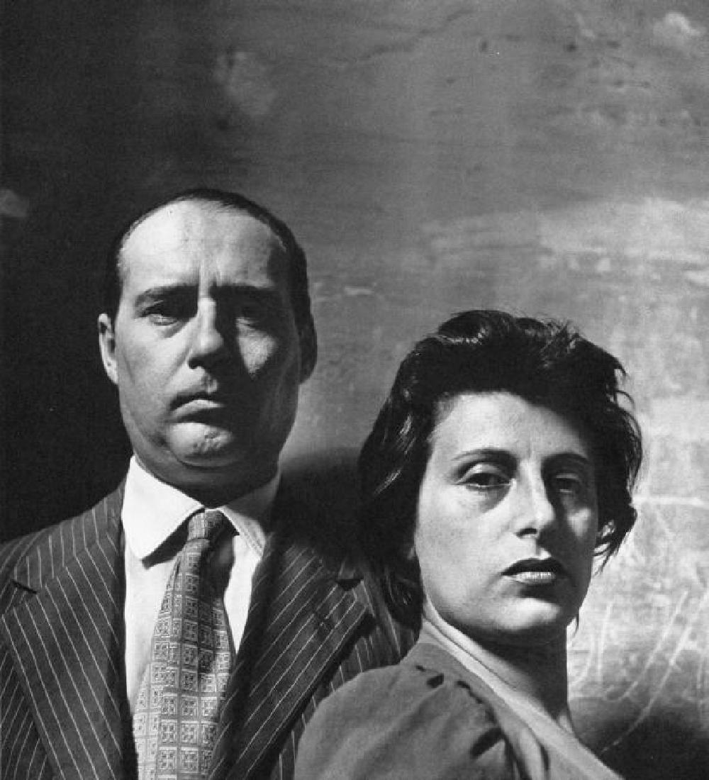 IRVING PENN - Roberto Rossellini, Anna Magnami