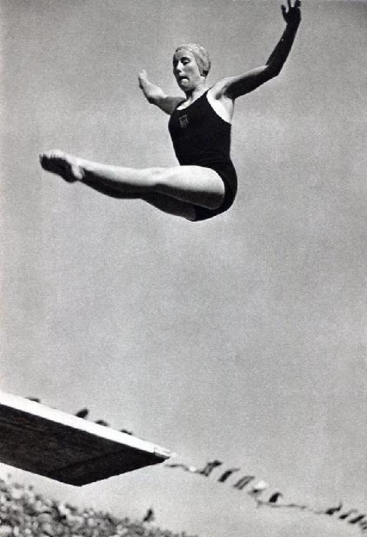 DR PAUL WOLFF - 1936 Olympics - Diving