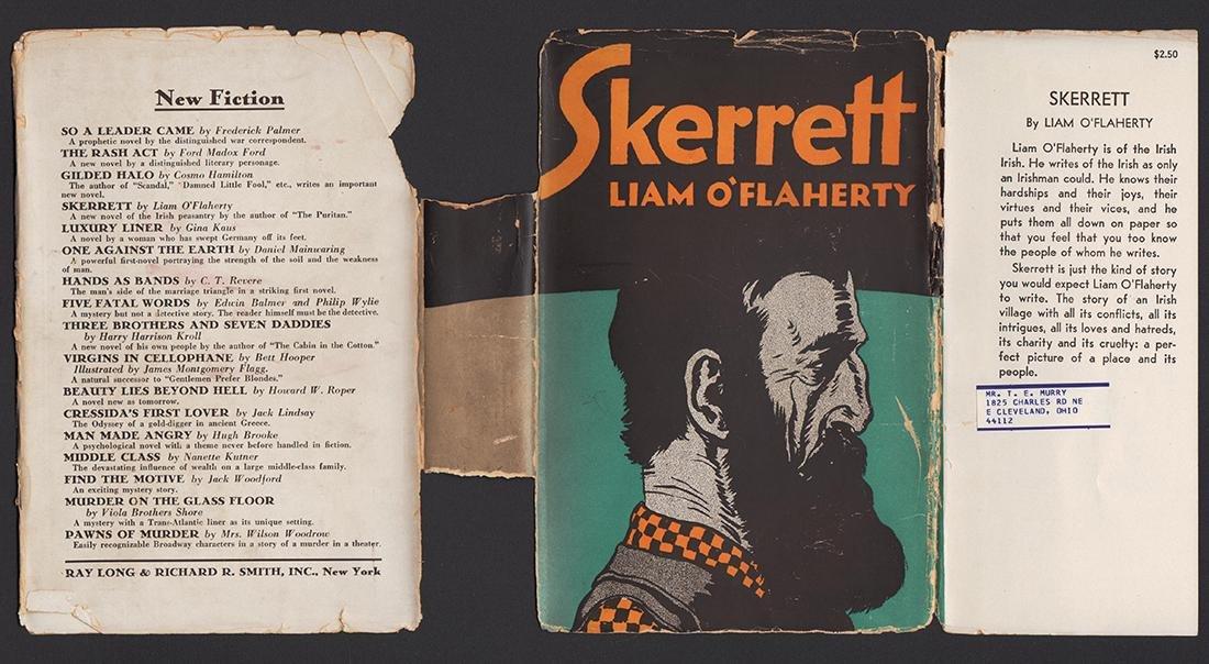 Skerrett, Liam O'Flaherty, First Edition - 3