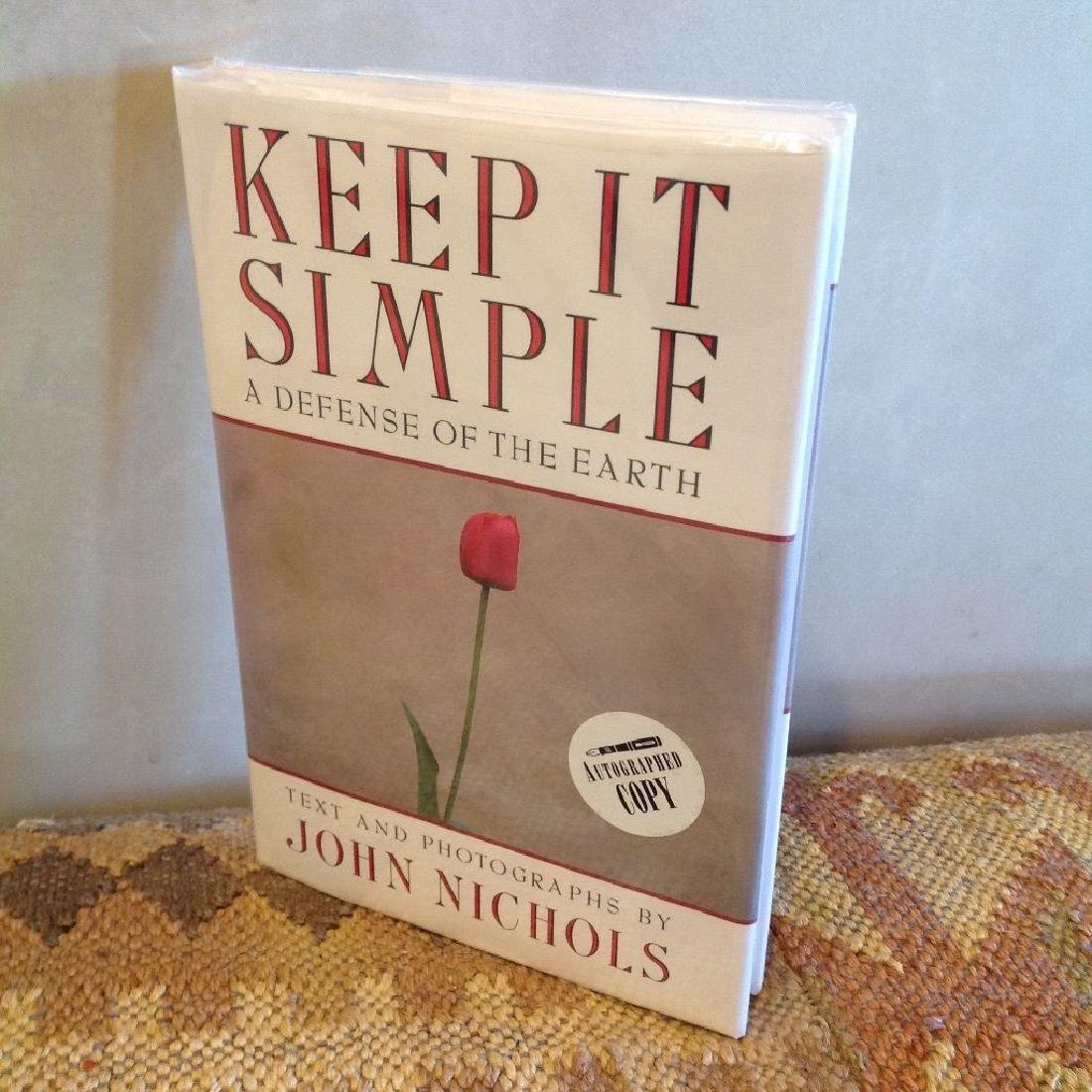 Keep It Simple: Defense of Earth by John Nichols Signed