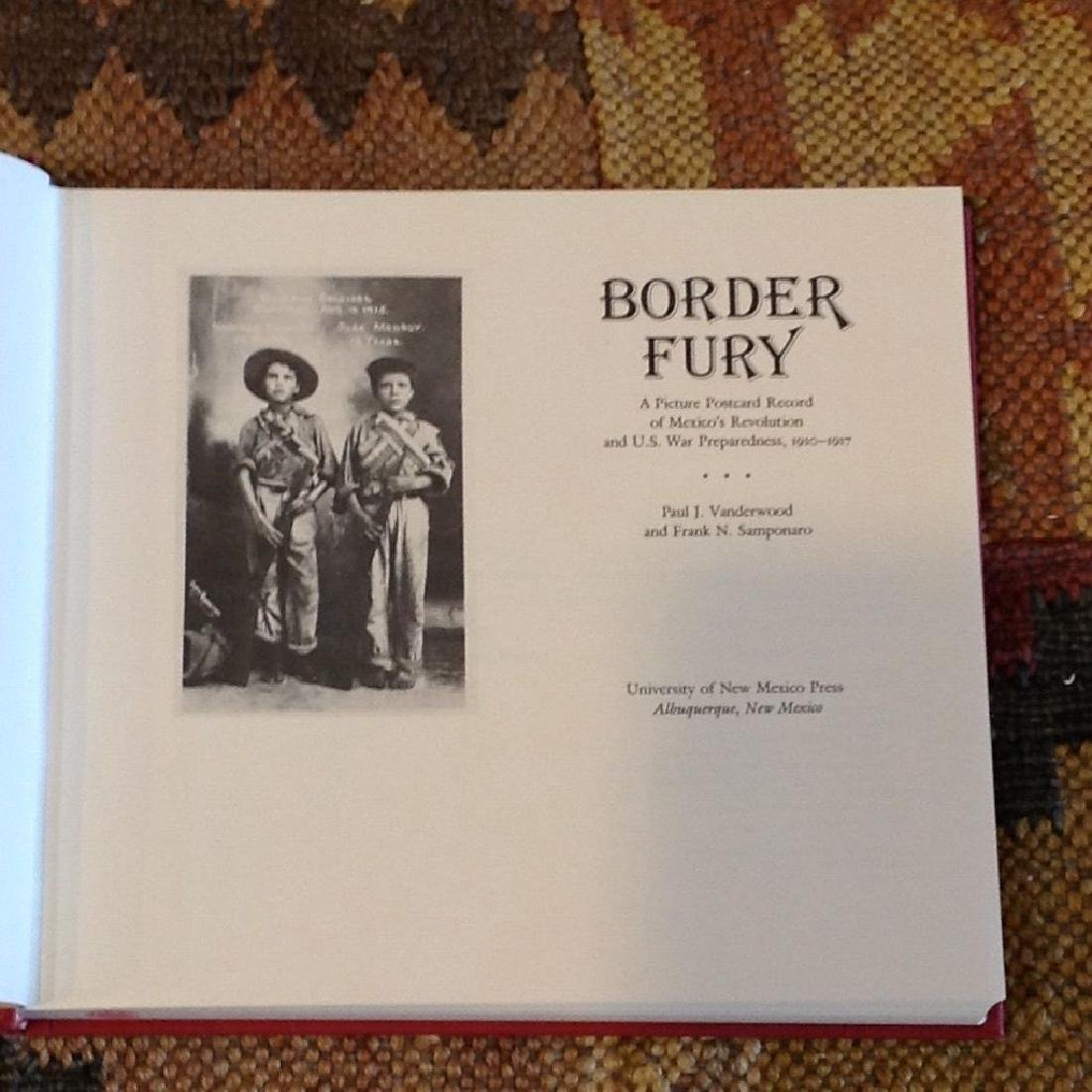 Border Fury: A Picture Postcard Record of Mexico's - 4