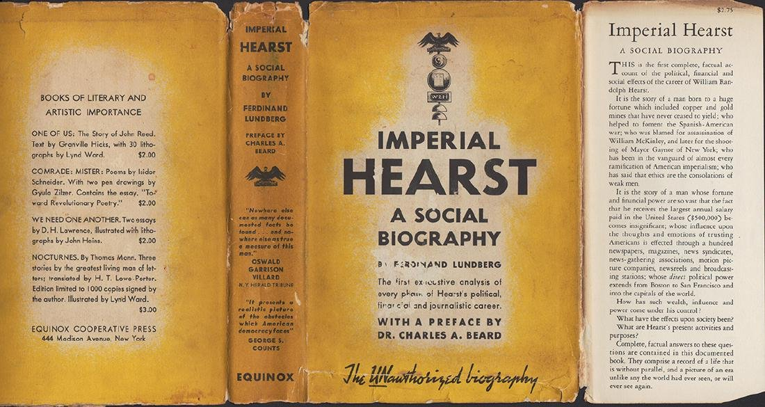 Imperial Hearst, A Social Biography - 3