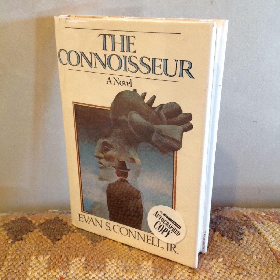The Connoisseur by Evan S. Connell Autographed