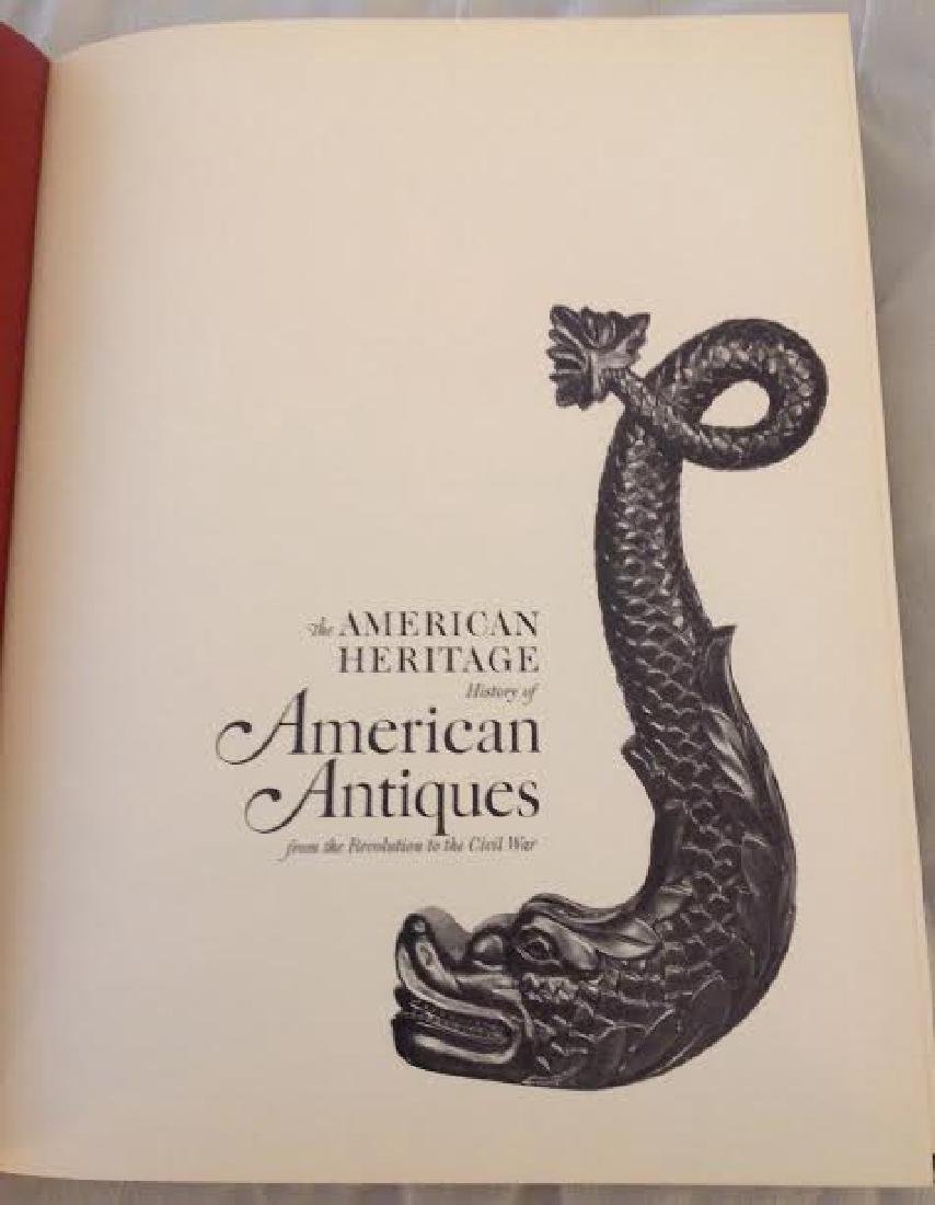 The American Heritage History of American Antiques - 3
