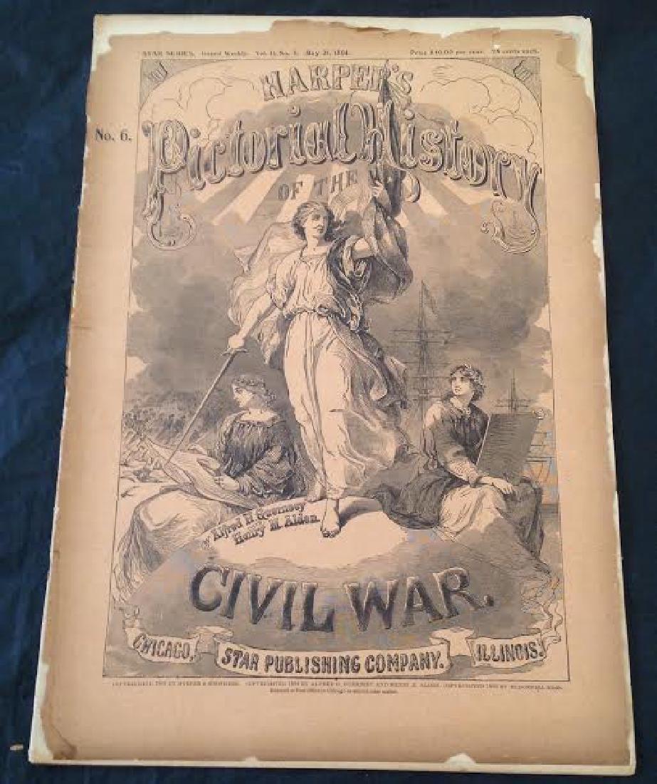 Original Harper's Pictorial History Civil War Series