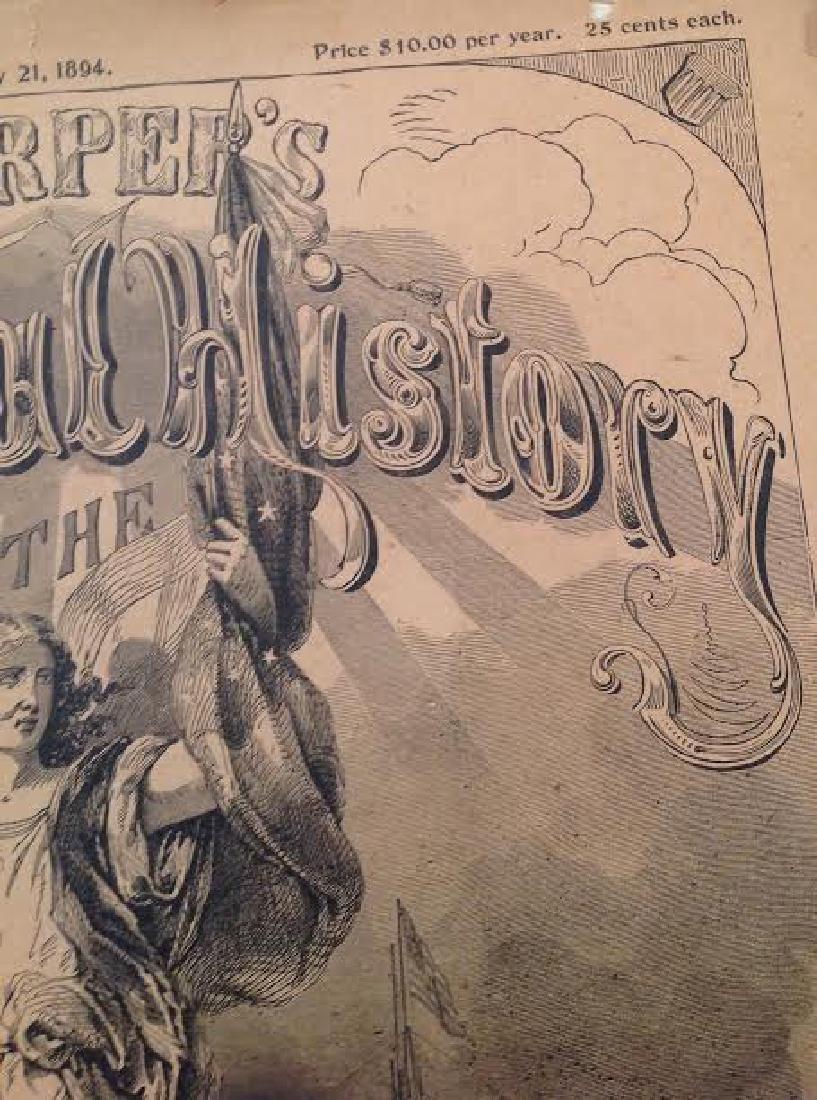 Original Harper's Pictorial History Civil War Series - 3