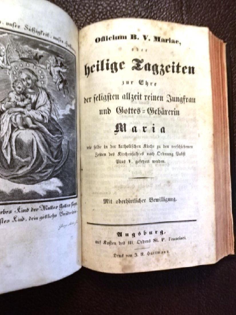1848 Illustrated German Prayer Book, Three Works - 4
