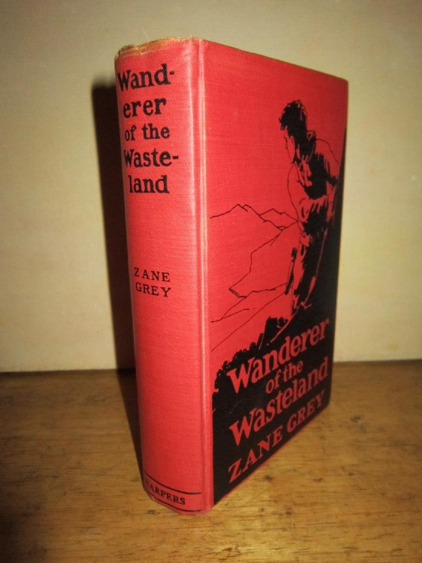 Zane Grey Wanderer of Wasteland with Autographed Check - 3