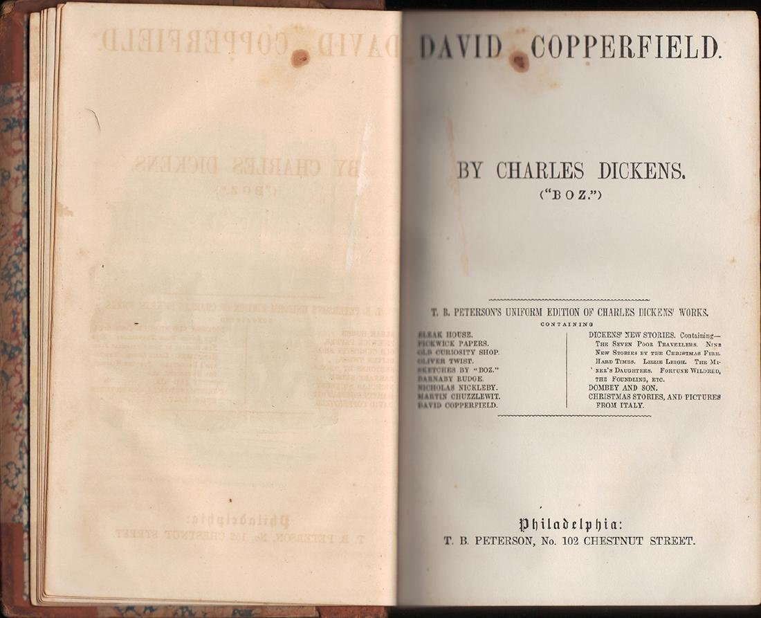 David Copperfield, Charles Dickens - 3