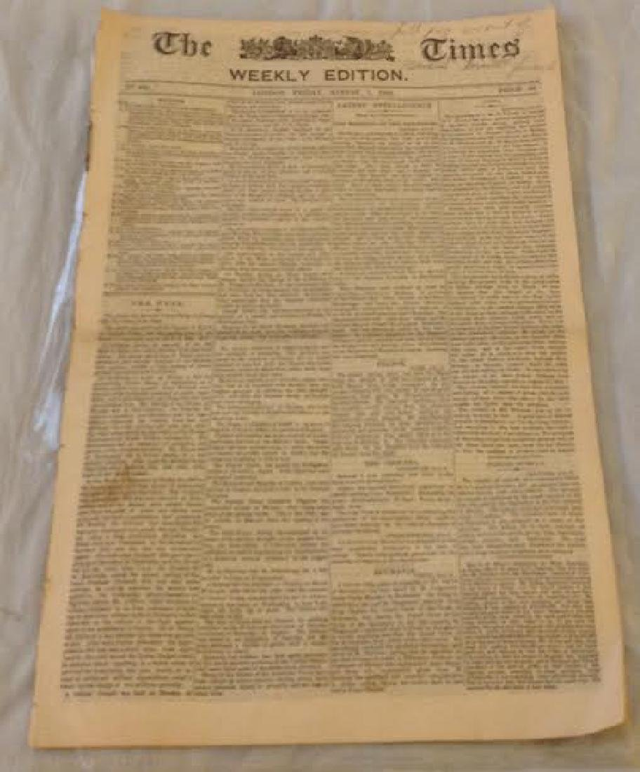 Times Newspaper Weekly Edition: General Grant's Funeral