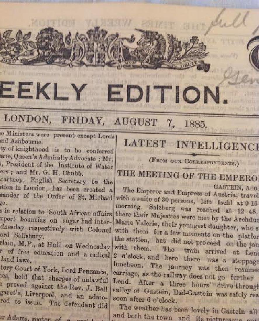 Times Newspaper Weekly Edition: General Grant's Funeral - 3