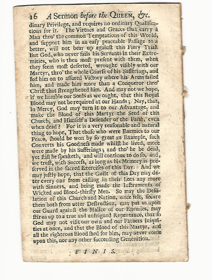 1709 A Sermon at St. James's Chappel, 1708 - 2