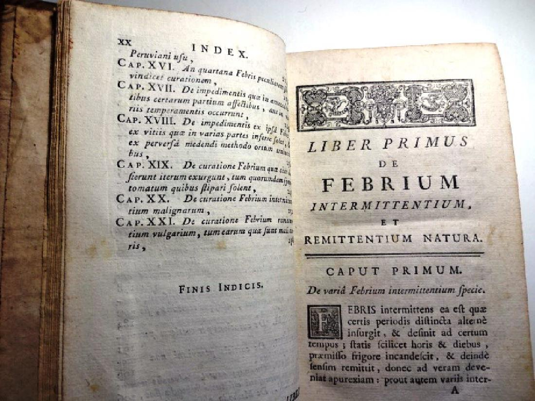 1759 Medical Book De Recondita - 2
