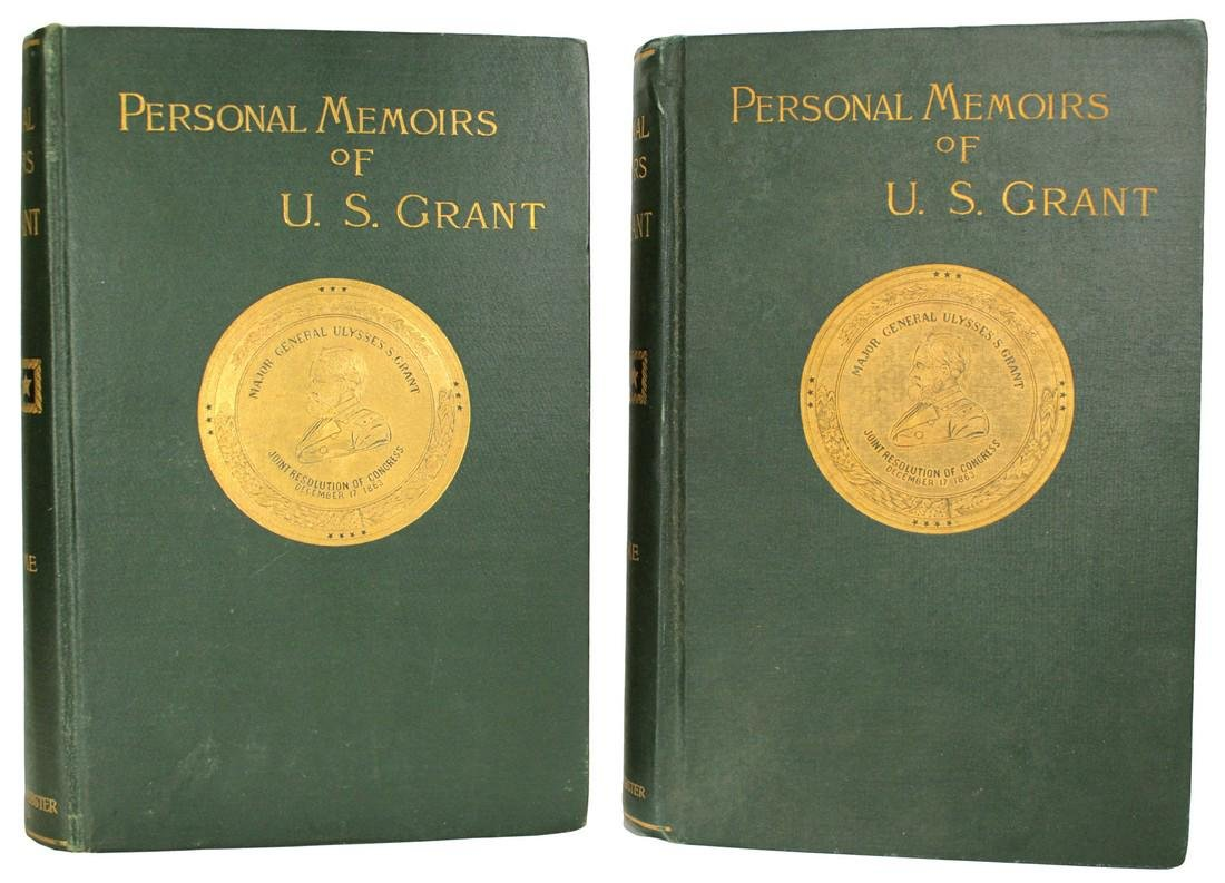 Personal Memoirs of U.S. Grant, First Edition