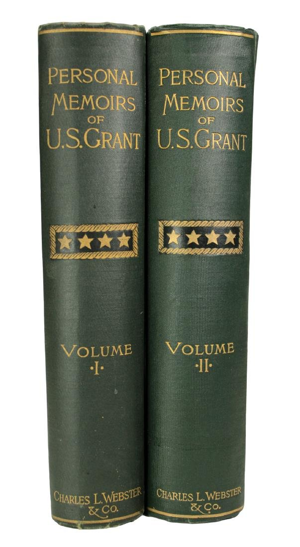 Personal Memoirs of U.S. Grant, First Edition - 3