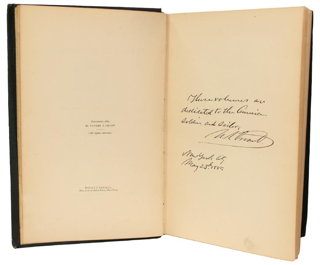 Personal Memoirs of U.S. Grant, First Edition - 4