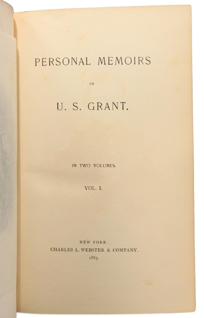 Personal Memoirs of U.S. Grant, First Edition - 6