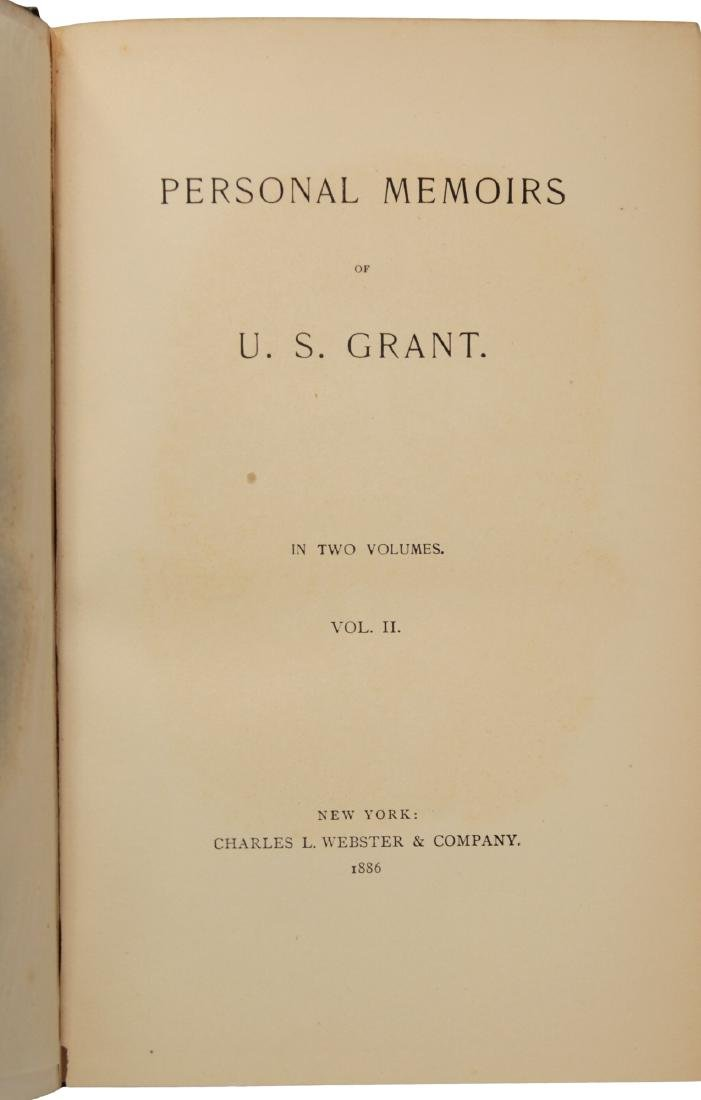 Personal Memoirs of U.S. Grant, First Edition - 8