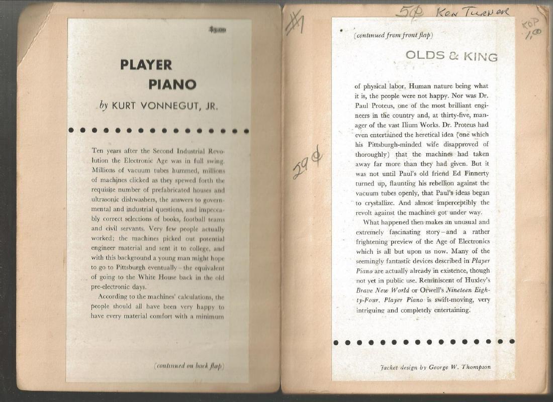 Piano Player by Kurt Vonnegut - 2