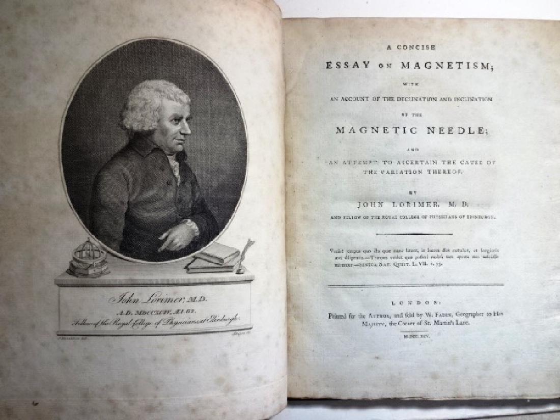 1795 Lorimer Concise Essay on Magnetism