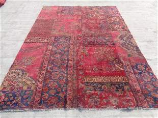 Persian Patch Work 9.4x6.6