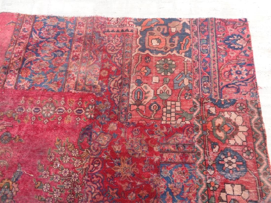Persian Patch Work 9.4x6.6 - 2