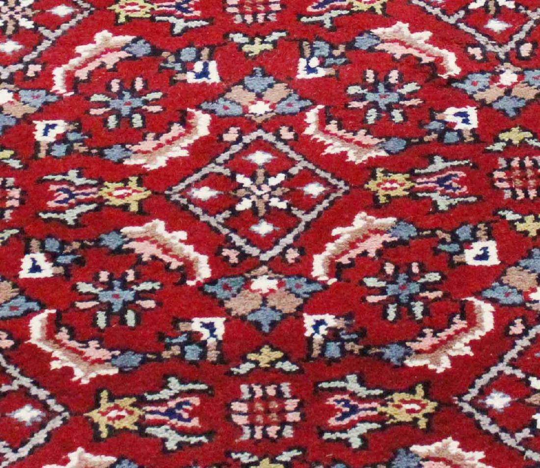 Indo Persian Kashan Runner Rug 2.6x11.5 - 2