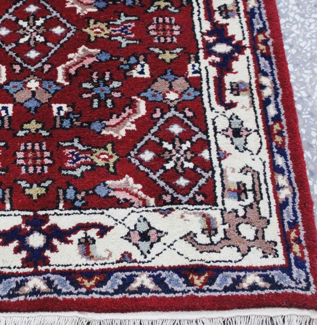 Indo Persian Kashan Runner Rug 2.6x11.5 - 3