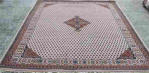 Indo Persian Sarouk Area Rug 6.8x8.1